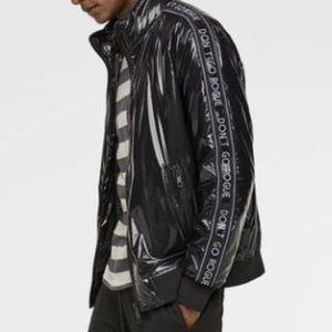 NWT Zara Man Vinyl Jacket